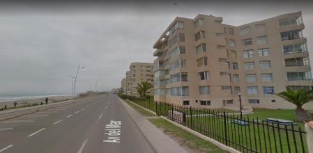 DEPARTAMENTO EN ARRIENDO - AV DEL MAR PRIMERA LINEA
